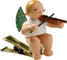 650/90/2, Angel with Violin, on Clip