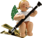 650/90/43, Angel with Bassoon, on Clip