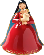 550/M, Madonna with Infant Jesus, Plain Decor