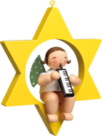 650/70/66, Angel with Melodica, in Star