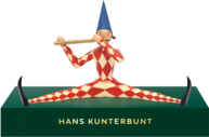 5332, Hans Kunterbunt, Small, with Pedestal