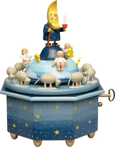 "Music Box ""Father Moon with Angels"", 