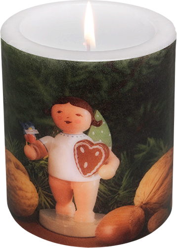 "Candle ""Gingerbread Angel"""