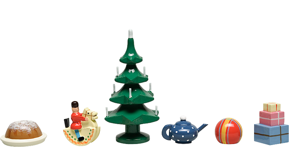Set of Decorations, 6-Piece Set