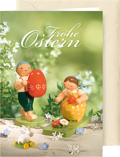"Greeting Card ""Easter"", with envelope"