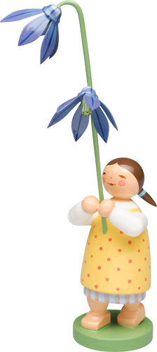 Girl with Scilla