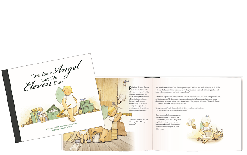"Book ""How the Angel Got His Eleven Dots"", Hardcover, 32 Pages, Colour Illustrations, for Readers from 5 to 99 (in English Language)"