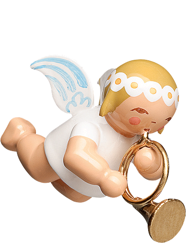 Little Suspended Angel, with French Horn