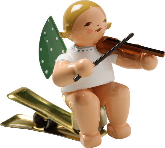 Angel with Violin, on Clip