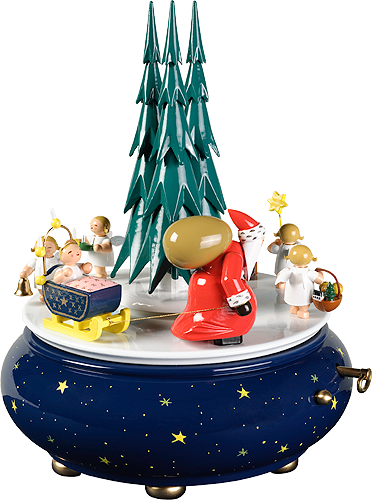 "Music Box ""Christmas Procession"", with 36-note Musical Movement"