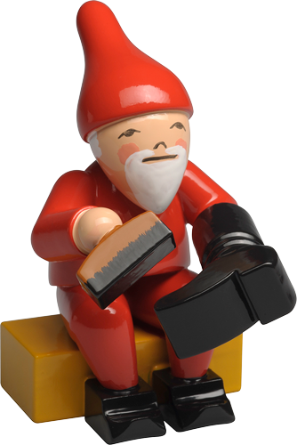 Gnome with Boot