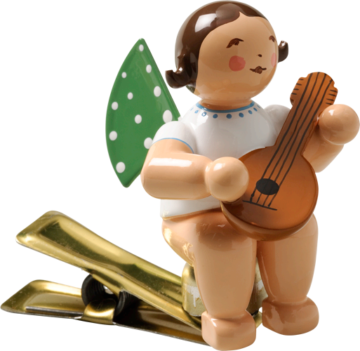 Angel with Mandolin, on Clip