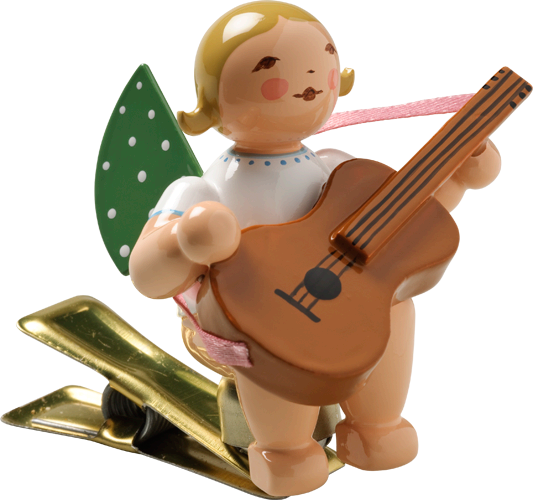 Angel with Guitar, on Clip